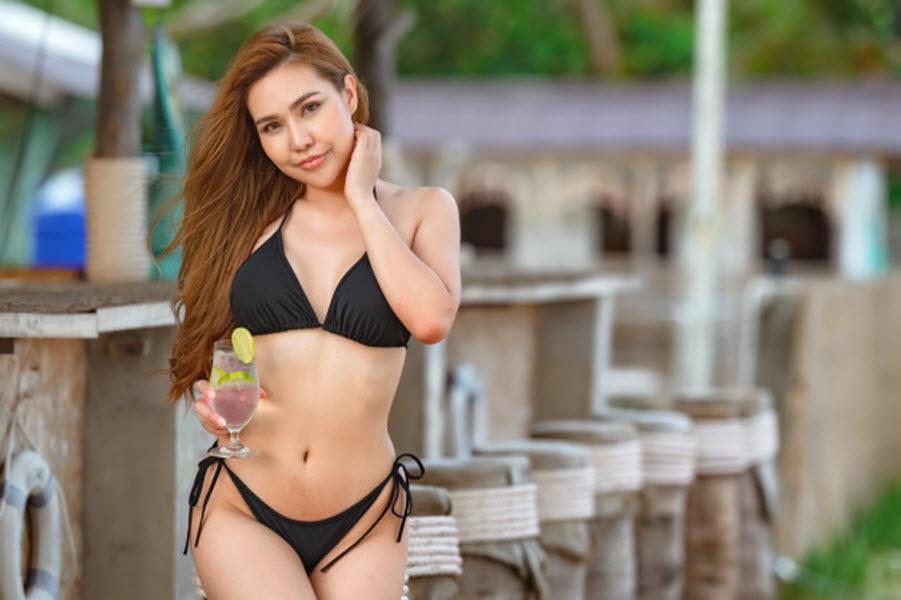Holiday girlfriend in phuket
