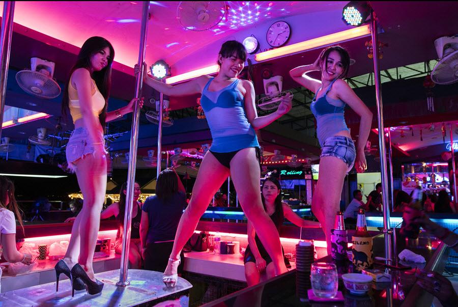 Nightclub and Pickup Bars in Bangkok