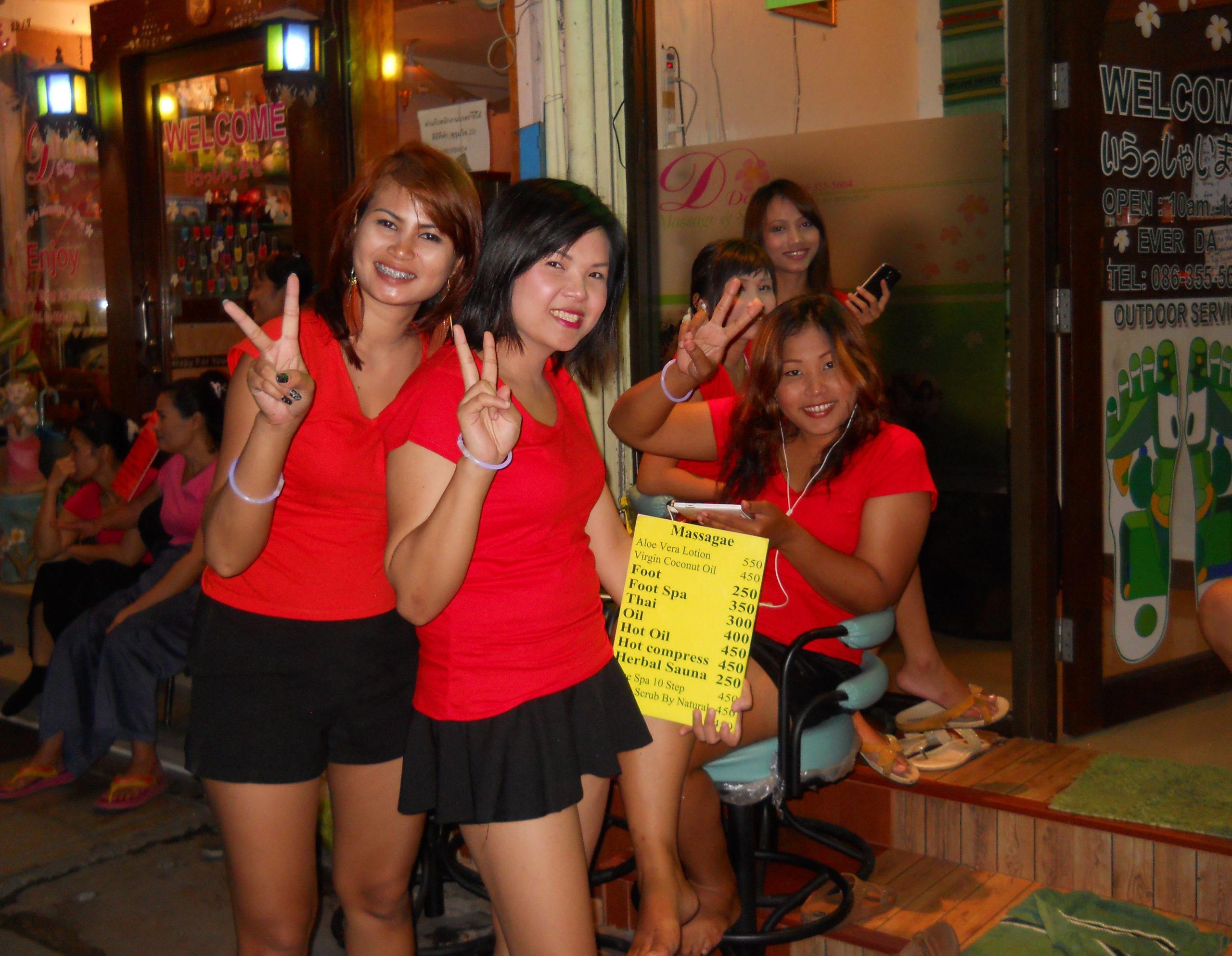 massage parlours in thailand