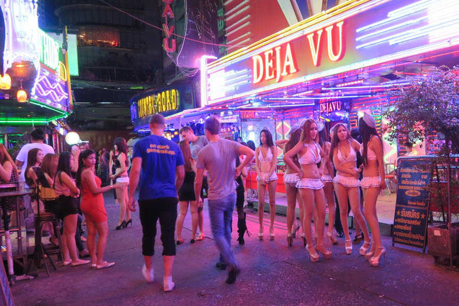 redlight districts in thailand