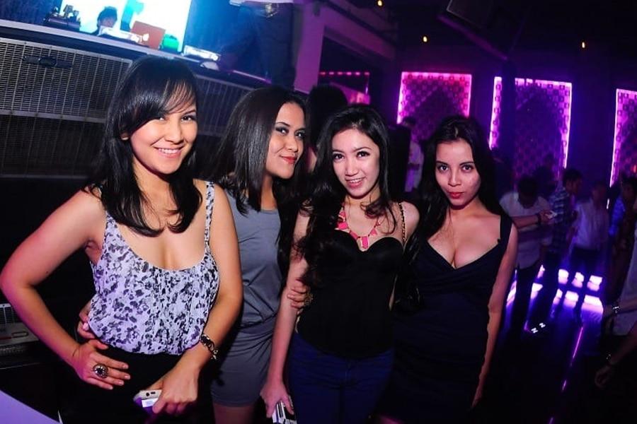 Nightclub and pickup bars in Jakarta
