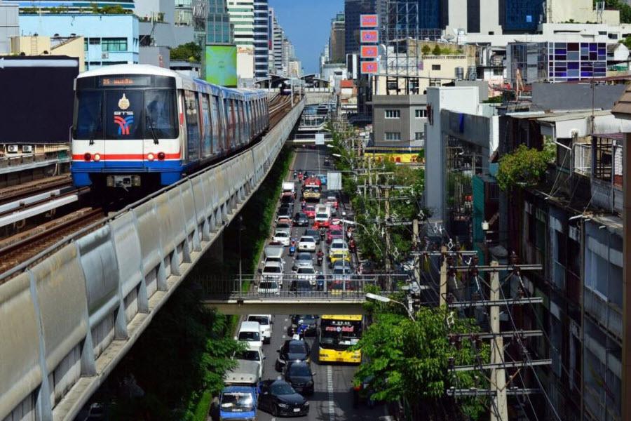 get around in thailand