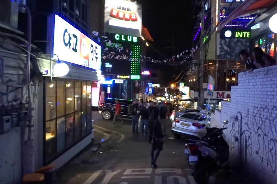 Redlight Districts in Seoul