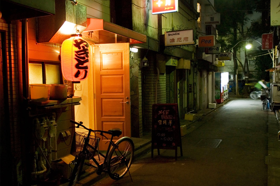 Redlight Districts in Japan