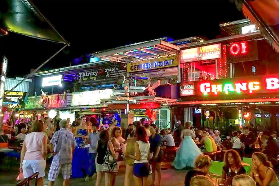Pickup Bars in Krabi