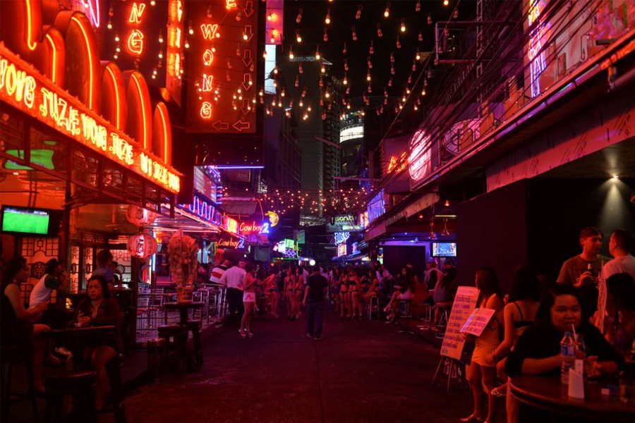 Red Light Districts in Hua Hin