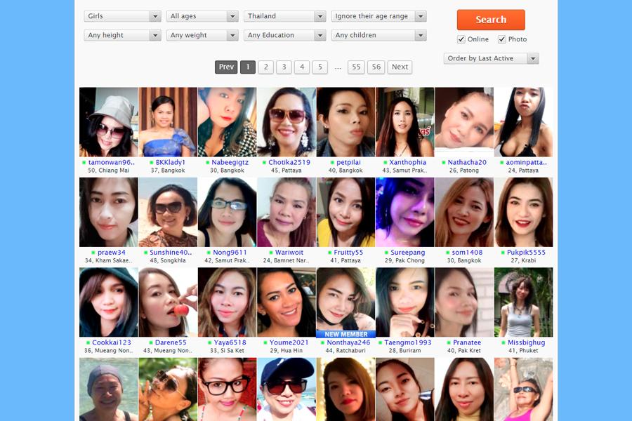Browse Through Profiles