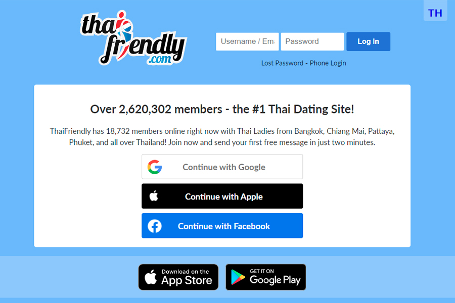 How To Sign Up For Thai Friendly?